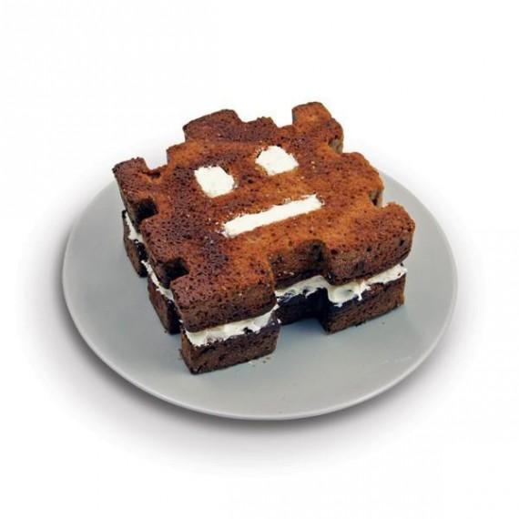 Moule à gâteaux Space Invaders