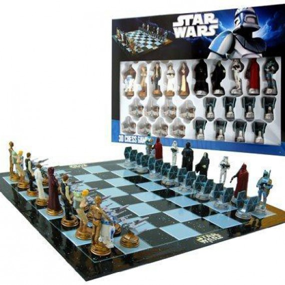 echiquier star wars jeu d 39 chec original commentseruiner. Black Bedroom Furniture Sets. Home Design Ideas