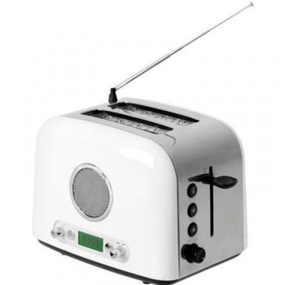 Le toaster grille pain radio
