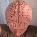 Chapeau de laine cerveau - bonnet