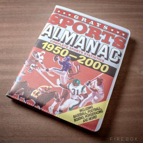 Pochette iPad Almanach Retour vers le futur