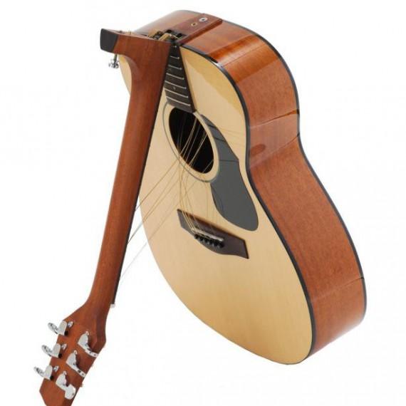La guitare pliable