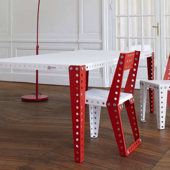 table meccano home. Black Bedroom Furniture Sets. Home Design Ideas