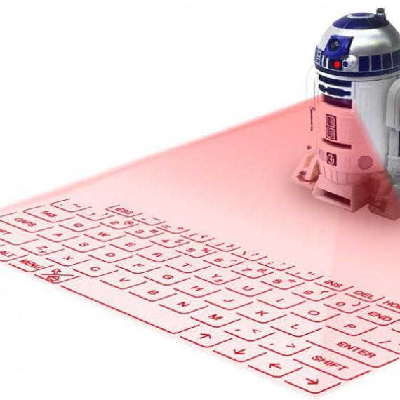 R2-D2 clavier laser