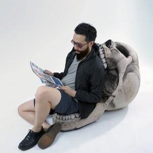 Chaise crâne