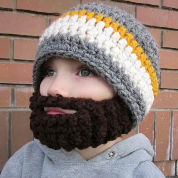 Bonnet barbe pour enfant