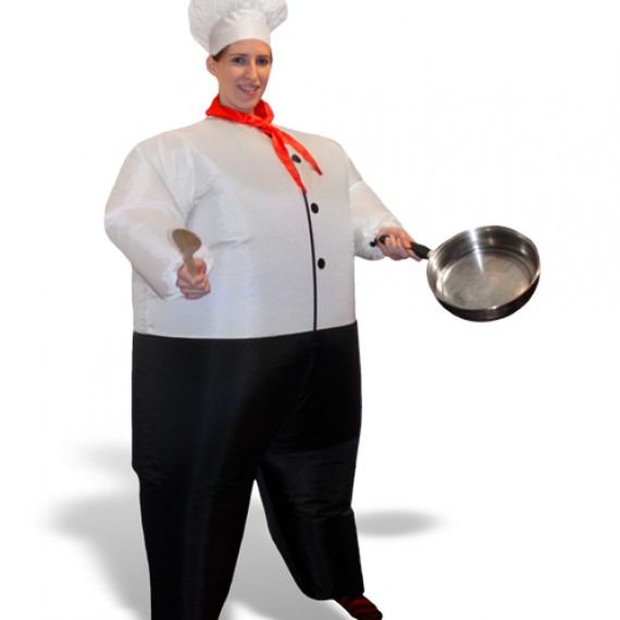 Costume chef gonflable