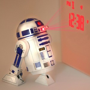 Réveil R2D2 avec projecteur