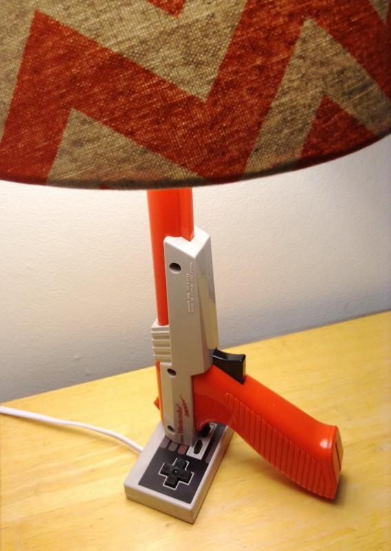 La lampe de chevet pistolet Nintendo NES Zapper Cadeau