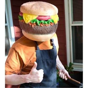 Le masque cheeseburger