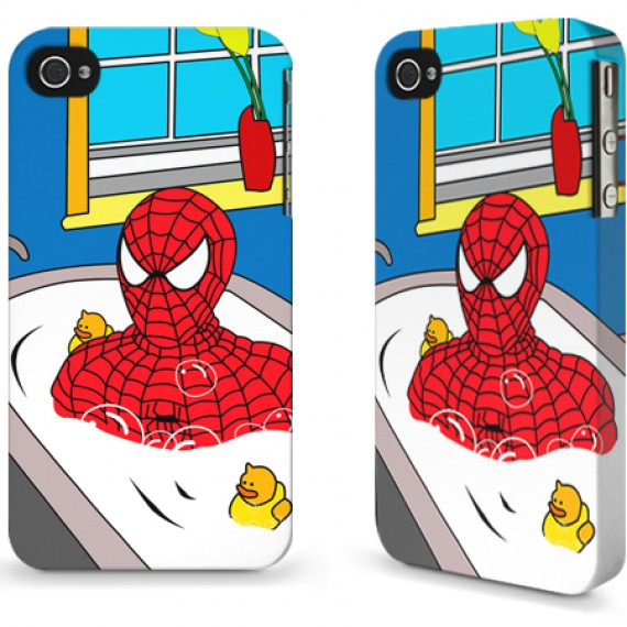 Coque smartphone Bathing Hero Spider-Man