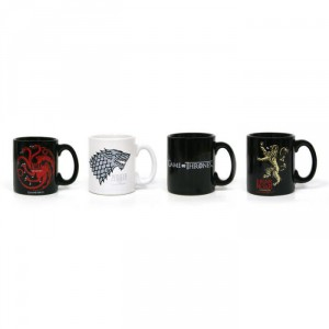 Set 4 mini mug Expresso Game of Thrones