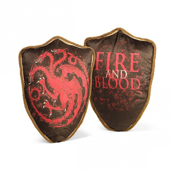 Coussin Targaryen Fire and Blood Game of Thrones