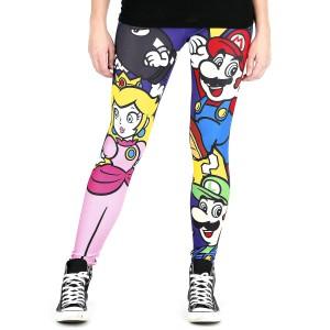 Legging Nintendo Violet Super Mario Big Persos