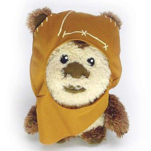 Peluche Star Wars Wicket Ewoks