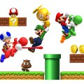 Stickers Autocollants Super Mario pour murs