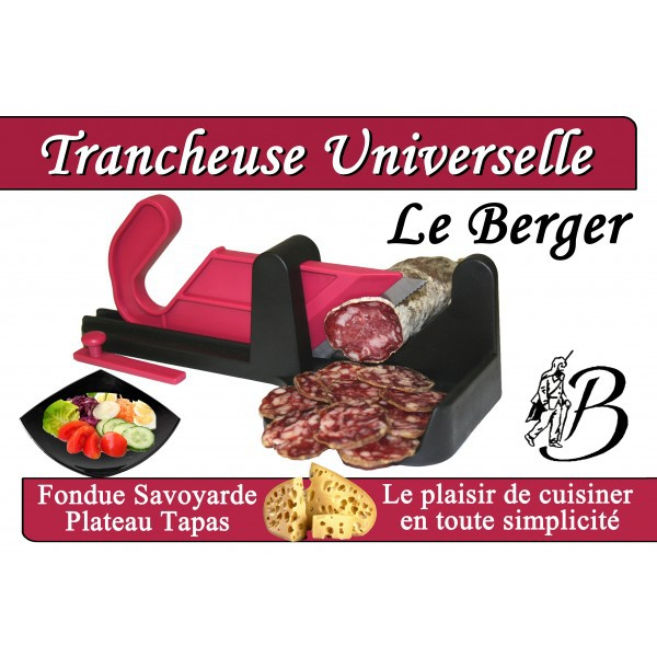 trancheuse saucisson guillotine le berger. Black Bedroom Furniture Sets. Home Design Ideas