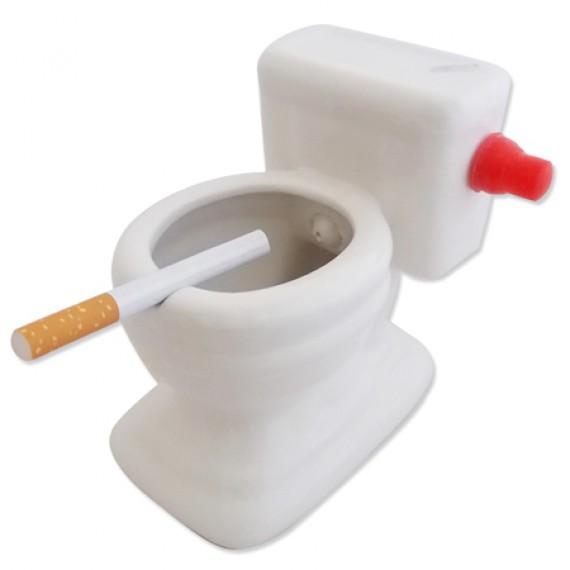 Cendrier toilettes