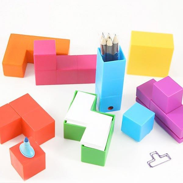 Set de bureau tetris - Set de bureau personnalise ...