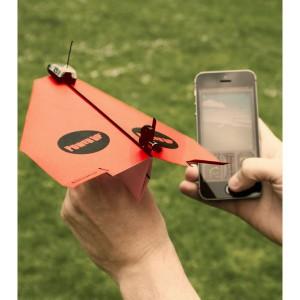 PowerUp 3.0 : Avion papier télécommandé par smartphone