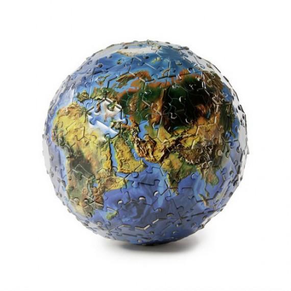 Puzzle 3D Planète Terre
