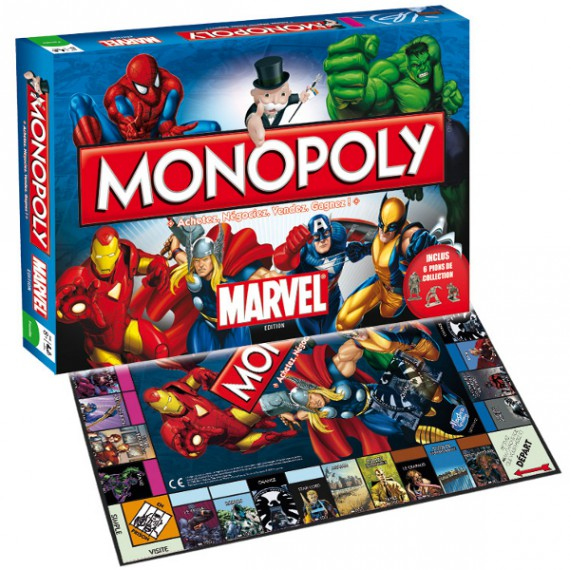 Monopoly Marvel