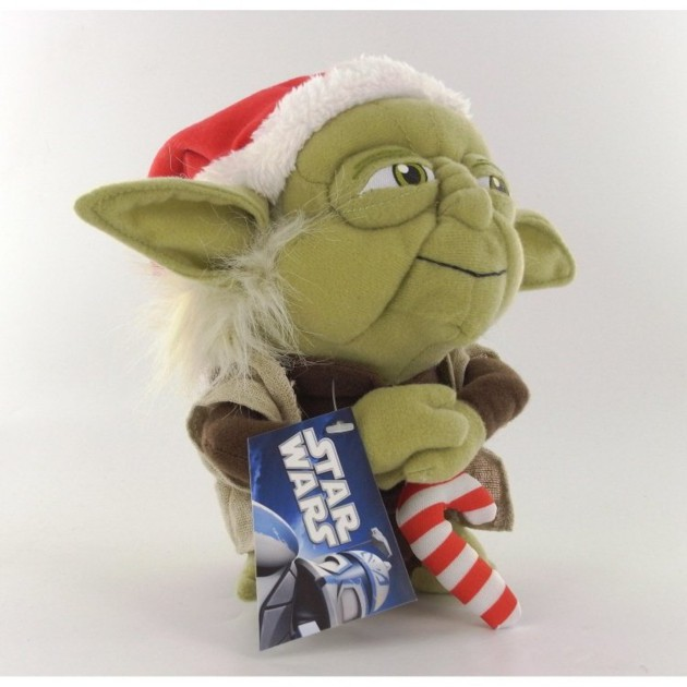 peluche star wars ma tre yoda de no l 17 cm. Black Bedroom Furniture Sets. Home Design Ideas
