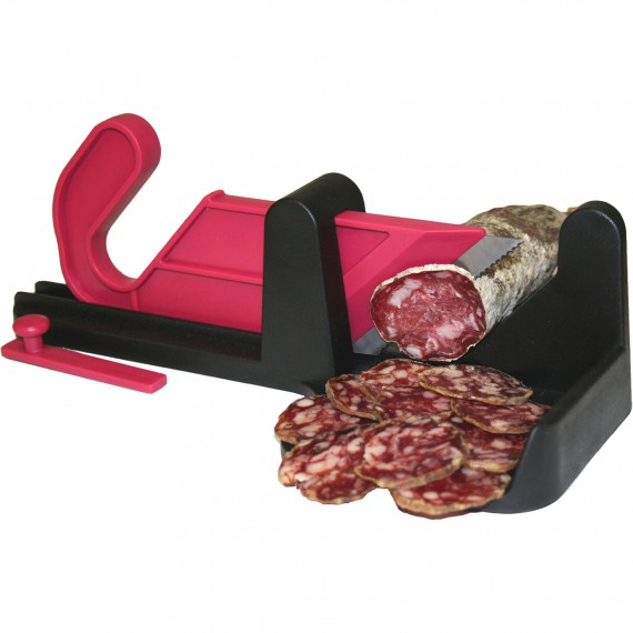 Trancheuse saucisson guillotine le berger - Machine a couper le saucisson ...