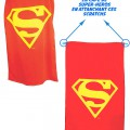 Serviette-cape Superman
