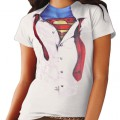 T-shirt imprimé Superman pour Superwoman