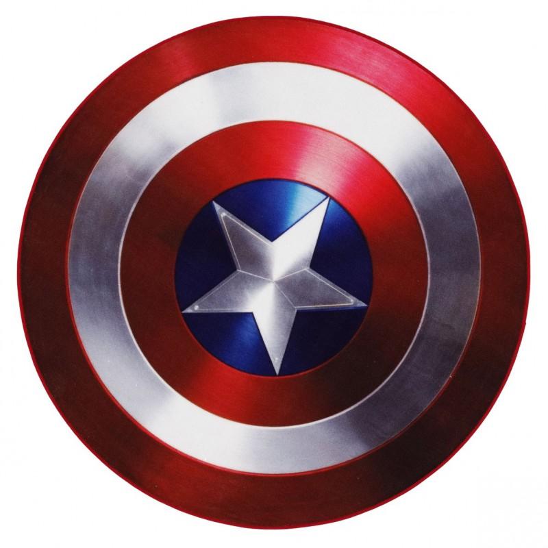 Descente de lit captain america - Bouclier capitaine america ...