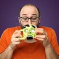 Mug Tête de zombie vert