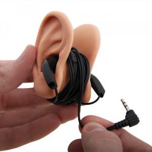 Enrouleur écouteur oreille