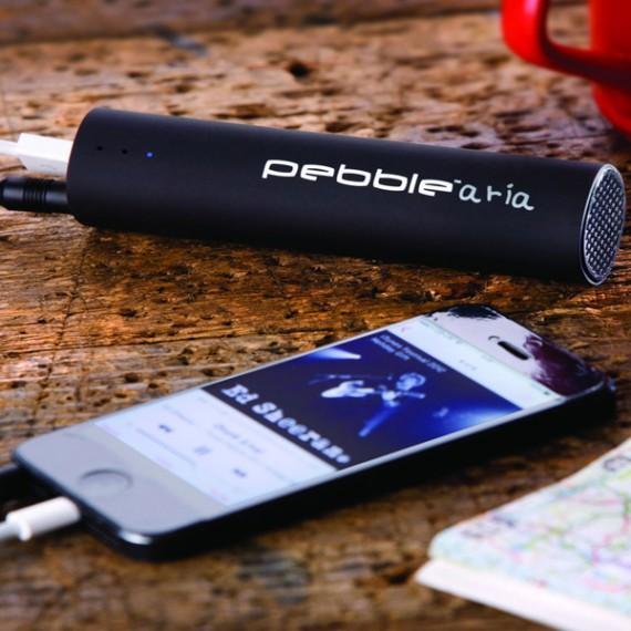 Chargeur-haut parleur pour smartphones