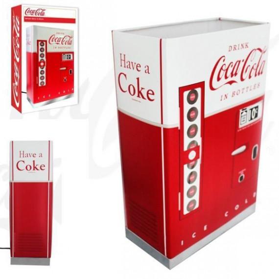 Lampe distributeur vintage Coca-Cola