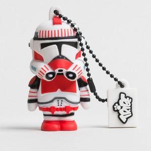 Clé USB stormtrooper rouge Star wars