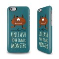 Coque mobile monstre
