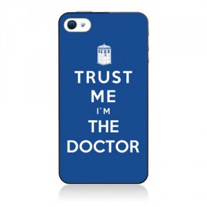 Coque Docto Who Trust me I'm the doctor