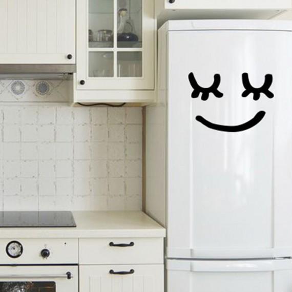 Sticker décoratif réfrigérateur Madame