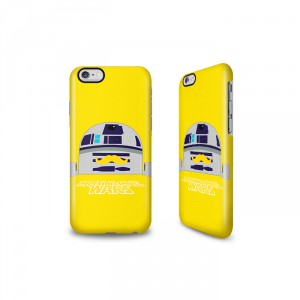 R2D2 Star Wars moustachu