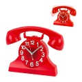Horloge murale téléphone vintage