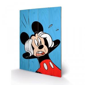 Panneau en bois Mickey Walt Disney