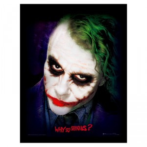 Cadre Portrait The Joker DC Comics
