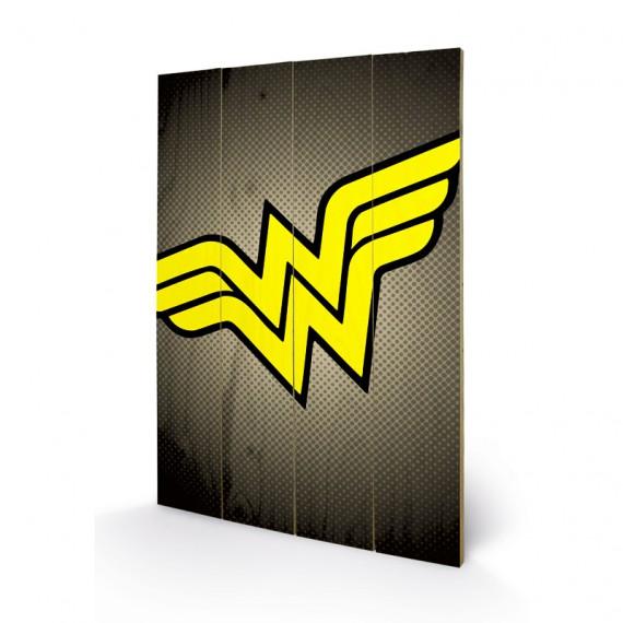 Panneau en bois Wonder Woman DC Comics
