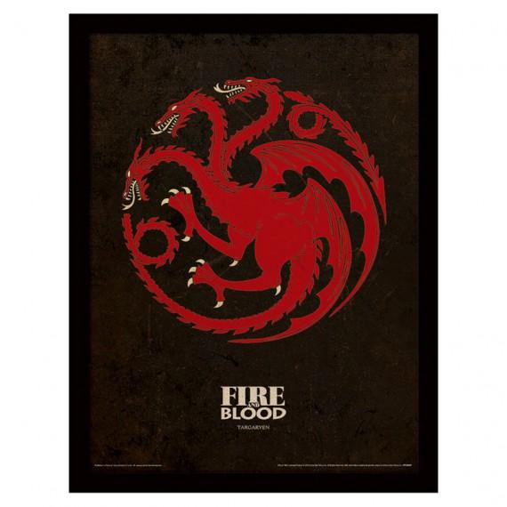 Cadre Targaryen Game of Thrones