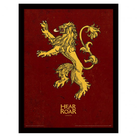 Cadre Lannister Game of Thrones