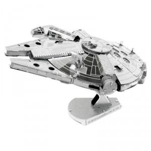 Maquette Star Wars 3D Métal Faucon millénium