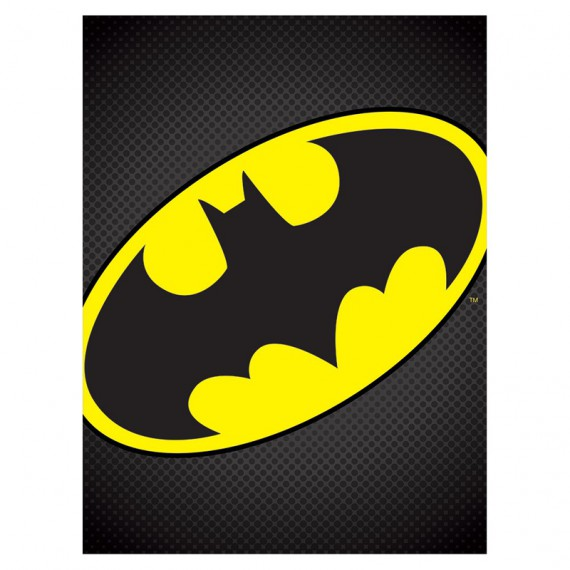 Toile Batman logo Dark Knight DC Comics