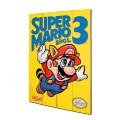 Panneau en bois Super Nintendo Mario Bros 3