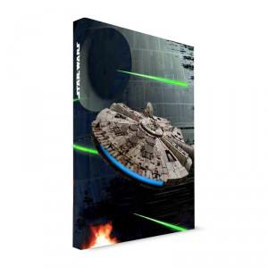 Cahier lumineux Star Wars Falcon Millenium